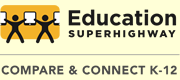 Education SuperHighway Logo, Compare & Connect K-12