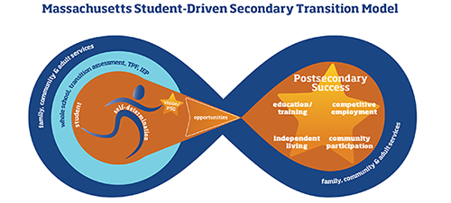 secondary transition visual model